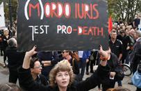 Protest przeciw zaostrzeniu prawa aborcyjnego