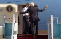 """Obama ponagla� Clintona przed wylotem z Izraela do USA. """"Bill! Chod�, zabior� ci� do domu"""""""
