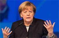 Sonda� dla ZDF. Prawie co trzeci sympatyk Lewicy ufa bardziej Putinowi ni� Merkel