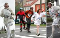 77 lat i tysi�ce kilometr�w maraton�w za sob�. Pani Marii kondycji mo�e pozazdro�ci� wielu 20-latk�w