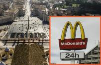 McDonald's chce otworzy� restauracj� obok Placu �w. Piotra. Kardyna�owie s� oburzeni
