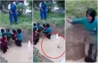 Skandaliczny obóz przetrwania dla dzieci. Maluchy musiały uciekać w błocie przed ogromnymi wężami