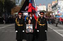 Arsen Pawłow pochowany w Doniecku. Kilka tysięcy osób na pogrzebie