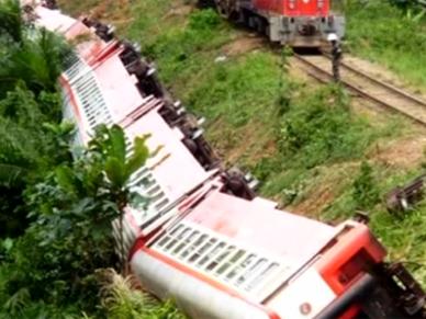 Katastrofa kolejowa w Kamerunie. Zgin�y 53 osoby