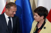 Beata Szyd�o: Tusk z�ym kandydatem dla Polski