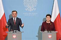 Komisja weryfikacyjna ws. reprywatyzacji w Warszawie. Beata Szyd�o i Zbigniew Ziobro przedstawili projekt ustawy