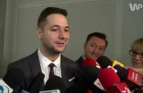 Mateusz Kijowski jest podsłuchiwany? Patryk Jaki: niech to udowodni, to zmienię kolor włosów na blond