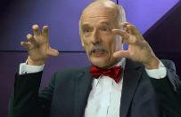 Janusz Korwin-Mikke u Jacka G�dka: to co robi UE, to powtarzanie pomys�u Adolfa Hitlera