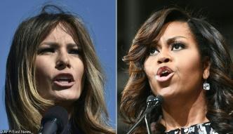Melanie Trump kontra Michelle Obama