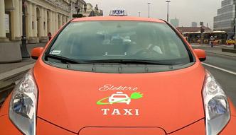 Elektryczne taksówki pojawiły się na ulicach Warszawy