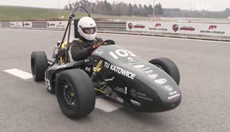 Śląski bolid Formuły Student
