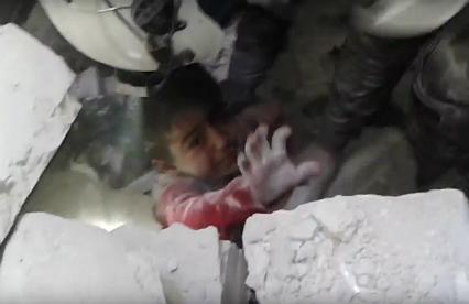 Szokujące zdjęcia z Aleppo