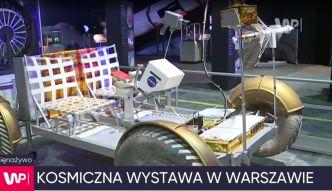 Kosmiczna wystawa w Warszawie