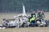 Katastrofa sportowego samolotu w Zielonej Górze