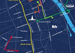 11 listopada - sprawdź, które ulice będą nieprzejezdne