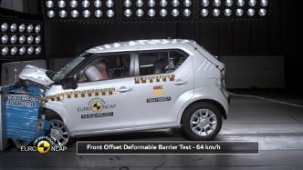 Suzuki Ignis - test zderzeniowy