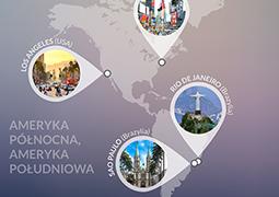 Najpopularniejsze miasta na świecie wg Instagrama