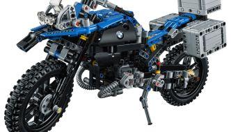 Budowanie motocykla z zestawu Lego Technic BMW R 1200 GS