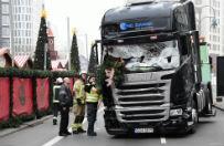 """Zamach w Berlinie. """"Bild"""": polski kierowca Łukasz U. stoczył walkę z terrorystą w kabinie ciężarówki"""