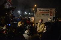Kolędowanie przed Sejmem