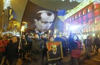Ulicami Kijowa przeszedł marsz ku czci Bandery
