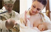 """""""Nie bójcie się"""". Papież Franciszek pozwolił, by matki karmiły piersią podczas mszy w Kaplicy Sykstyńskiej"""