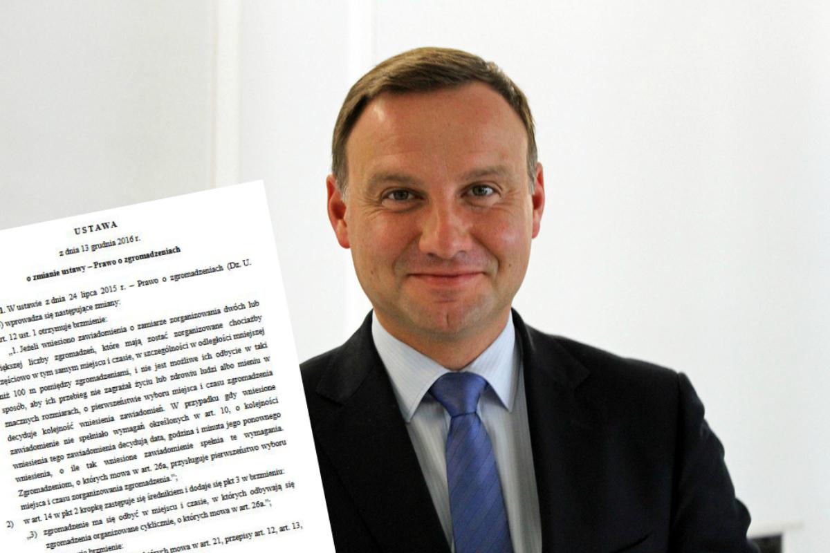 Wszystkie ustawy PiS, których nie podpisał Andrzej Duda. Zobaczcie galerię!