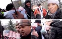 KOD przegoniony z Żagania. Protestujący musieli zwinąć flagi po blokadzie zwolenników PiS