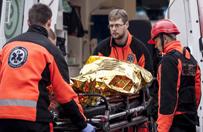Dramatyczny wypadek w Katowicach-Szopienicach. Zawalił się strop kamienicy