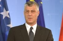 Prezydent Kosowa Hashim Thaci: Serbia chce anektować część naszego kraju