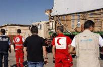 Walki uniemożliwiają zrzuty żywności w Dajr az-Zaur