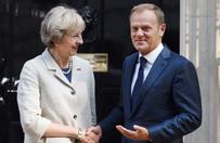 Tusk chwali May: jej słowa bliższe narracji Churchilla niż Trumpa