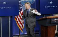 Rzecznik Białego Domu Sean Spicer oskarża media o celowe obniżanie rangi inauguracji Trumpa