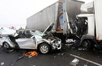 Dwa karambole na A1 w Łódzkiem. Zderzyło się ponad 70 aut