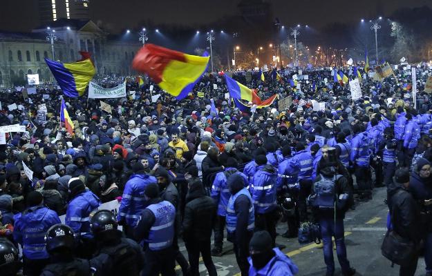 Rumunia: 27. dzień protestów przeciwko rządowi