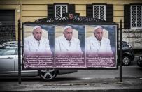 Wszczęto śledztwo ws. antypapieskich plakatów