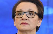 Minister edukacji Anna Zalewska o krytycznych opiniach ws. nowej podstawy programowej: emocje i przymiotniki - trudno się do nich odnieść