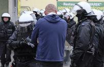 Awantura przed siedzibą KHW. Policja zatrzymała osiem osób