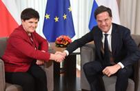 Premierzy Polski i Holandii o reformie UE
