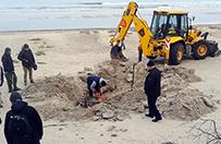 Historyczne odkrycie na plaży w Pobierowie