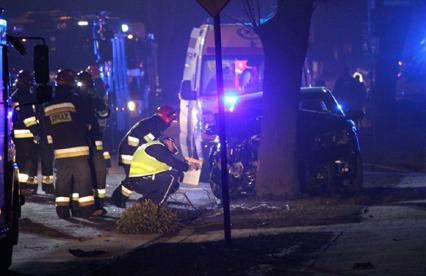 Wypadek kolumny rządowej z premier Szydło