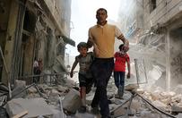 Broń chemiczna w atakach na Aleppo