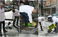 Nie mogli doprosić się pomocy ze strony władz, więc postanowili sami naprawić drogi w mieście