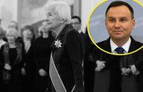 """Andrzej Duda wspomina Danutę Szaflarską. """"Zachwycała doskonałym warsztatem"""""""