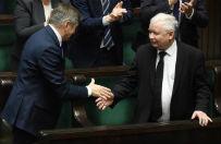 """""""Ludzki pan"""". Tak TVP broni Jarosława Kaczyńskiego. Na Twitterze zawrzało"""