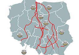 Tutaj najczęściej  dochodzi w Polsce do wypadków