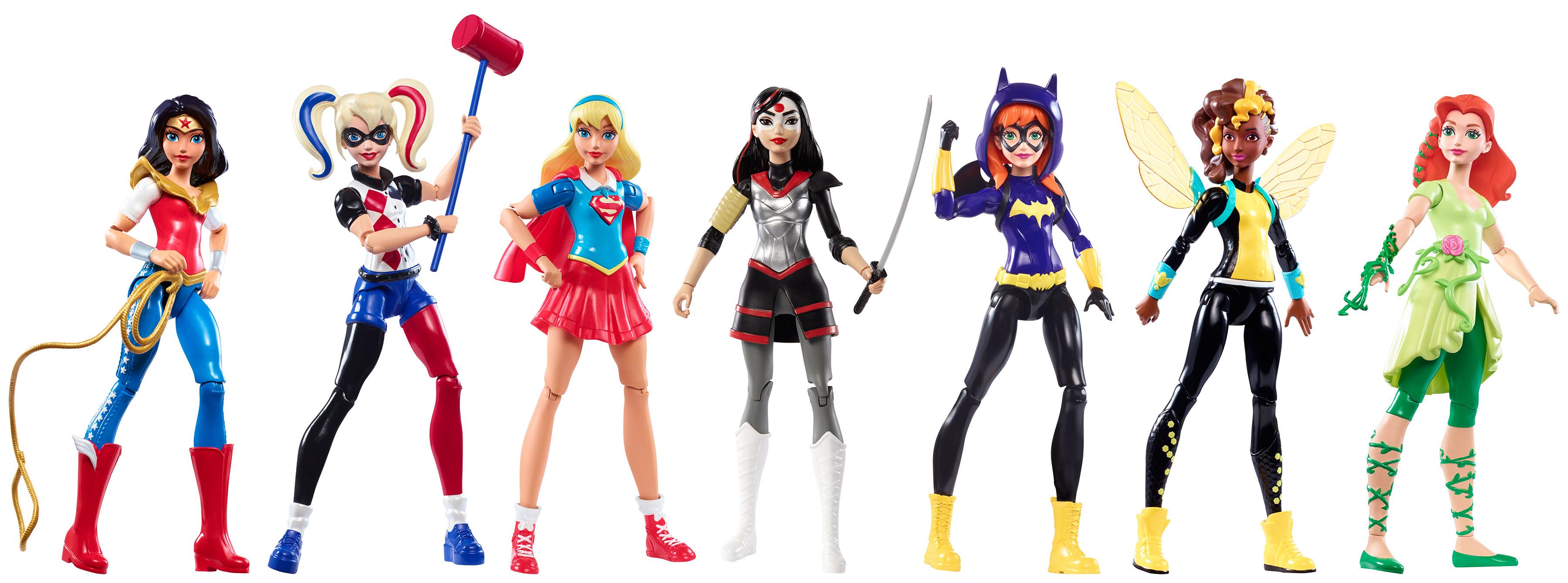 Mattel wygrywa nagrodę zabawka roku za Dc super hero girls™ w kategorii figurka akcji