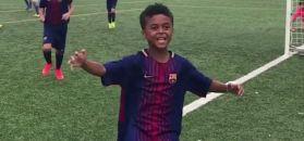 #dziejesiewsporcie: poznajecie tego chłopca? Syn legendy już strzela dla Barcelony