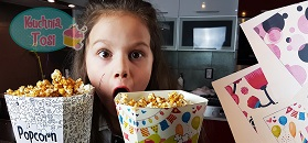Popcorn karmelowy według przepisu Tosi