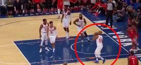 #dziejesiewsporcie: koszykarz rzucał spod własnego kosza. Efekt zaskoczył wszystkich